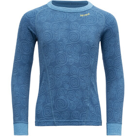 Devold Duo Active Shirt Enfant, blue